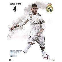 b29fe520626ed Grupo Erik Erik Editores Mini Poster Real Madrid 2018 2019 Sergio Ramos