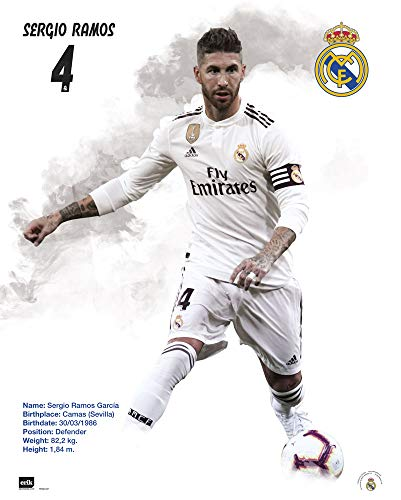 Grupo Erik Erik Editores Mini Poster Real Madrid 2018/2019