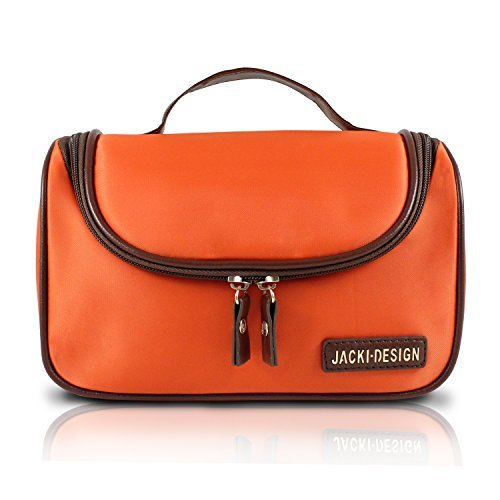 jacki-design-essential-travel-cosmetic-bag-w-hanger-orange-by-jacki-design