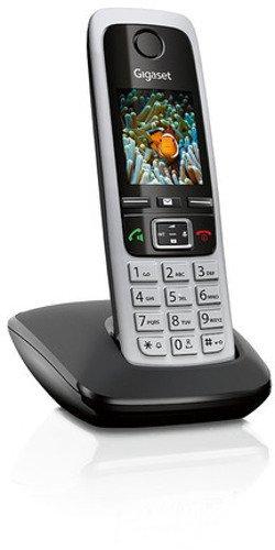 Gigaset C430 Schnurlostelefon (4,6 cm (1,8 Zoll) TFT-Farbdisplay, Dect-Telefon, Freisprechen) schwarz/silber - 2