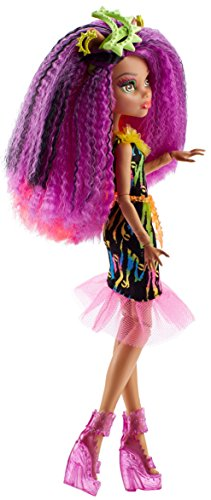 "Image of Monster High DVH70 ""Electrified Monstrous Hair Ghouls Clawdeen Wolf"" Doll"