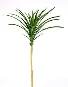 Tronc de Yucca artificiel, 38 feuilles, vert, 80 cm - Plante artificielle / Yucca plante synthétique - artplants