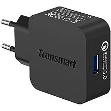 Tronsmart Quick Charge 3.0 Cargador USB de 18W para Google Pixel Pixel XL Samsung / Edge / Plus,Note 5 4, lg g2/3/4,Xperia Z5,xiaomi 3/4, bq, iPhone y más(USB A- Type C cable incluido)