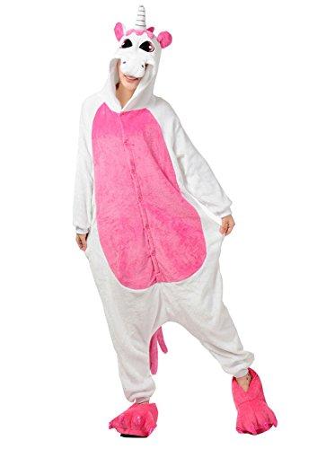 Très Chic Mailanda Unisexe Kigurumi Cosplay Combinaison Pyjama ou Déguisement (Licorne Rose Taille S)