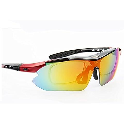 Uomini e donne Riding Mountain Sport Outdoor Occhiali Occhiali polarizzati , 1