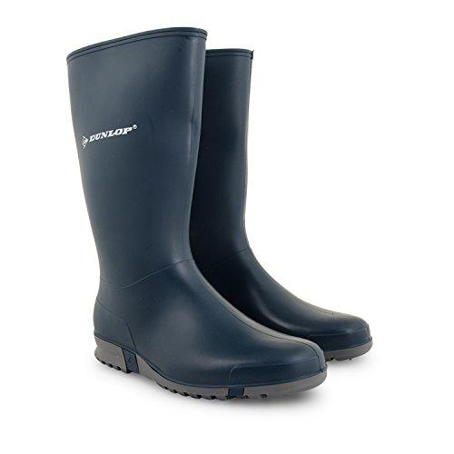Damen Dunlop Gummistiefel Schnee Regen Wasserdicht Gummistiefel Schuhe Größen UK Dunkelblau