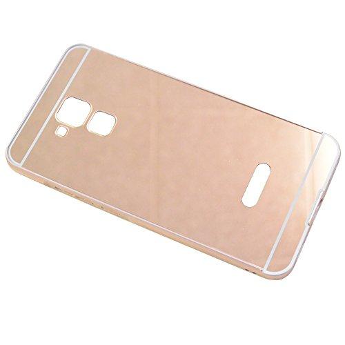 Original Tado-Case Hülle Schutzhülle Backcover Spiegel Mirror Case Cover Metall Bumper Huawei GT3 Rose Gold Metallic Look