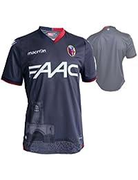 Macron FC Bologna 3rd Fútbol Jersey M16 Jugador BFC-G alternativamente Camiseta de fútbol Gris