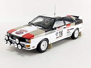 Minichamps 155811114 Audi Quattro-Mouton/Pons-Winners Rallye Sanremo 1981, Multi 1:18