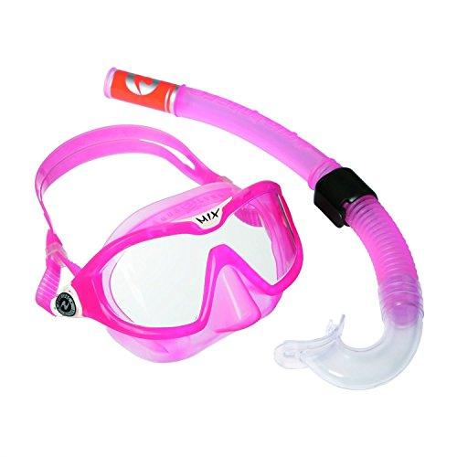 Aqua Lung Sport Kinder-Schnorchel-Set mit Tauchmaske und Schnorchelrohr Einheitsgröße Rosa - Rose