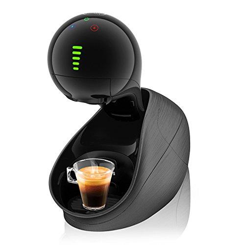 Krups Dolce Gusto KP6008 Nescafe Movenza Kaffeekapselmaschine, automatisch, 15 Bar, schwarz -