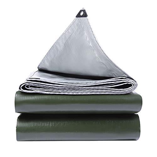 Bâche de Protection Solaire Pliante Anti-déchirure 0.35mm épaisse, Couverture de remorque de Camping au Sol pour extérieur, Haute densité étanche à l'humidité 160G / M² (Taille : 2Mx2M)