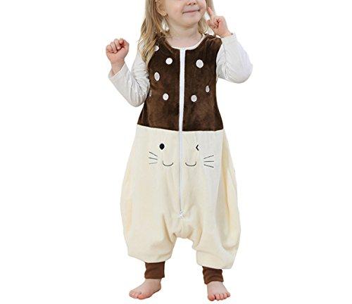 Kidslove Baby Schlafanzug Kinder Jumpsuits Overall Bauwolle Spielanzug nachtwäsche Unisex Schlafanzug Schlafsack Jungen (Kostüme Koala Baby)