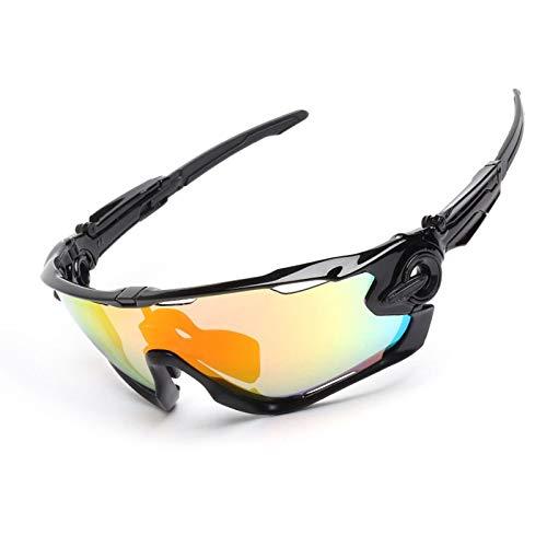 Daesar Sonnenbrille Unisex Schutzbrille Antibeschlag Motorrad Brille Polarisiert