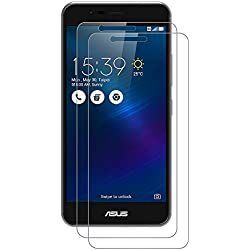 AICEK [Lot de 2] ASUS ZenFone 3 Max Protection écran, Film Protection Ecran en Verre Trempé Haute Transparent Invisible pour ZenFone 3 Max(ZC520TL) Anti-Rayures,HD,sans Bulles,Dureté 9H (5.2 Pouces)