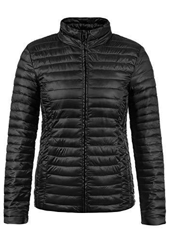 ONLY ONLY Britta Damen Steppjacke Übergangsjacke Jacke Mit Stehkragen, Größe:XS, Farbe:Black