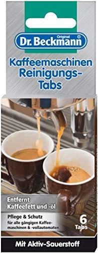 Dr. Beckmann Kaffeemaschinen Reinigungs-Tabs (1x 6 Stück)