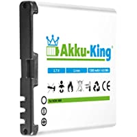 Akku-King Batteria per Nokia N85, N86, C 7-00, X 7-00, 701, Oro, sostituisce BL-5 k-Batteria agli ioni di litio, 1400mAh
