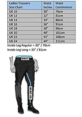 Texpeed Women's Waterproof CE Armoured Cordura Motorcycle Trousers by Texpeed
