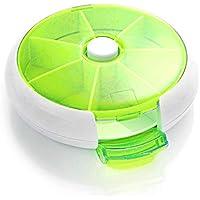 Lovelysunshiny Medizin-Pillendose mit runder Form Compact 7 Days Weekly Travel Medicine Container preisvergleich bei billige-tabletten.eu