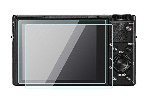 Sony Cyber-shot DSC-RX100V IV III Protection d'écran LCD Foils 0,33mm d'épaisseur en verre trempé dureté 9H Couverture parfaite pour Sony RX100V IV III Digital Camera Lot de 2