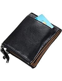 9cb0df242f1d6 Shiduoli Ultra Populäre Reale Leder Reißverschluss Attachment Card Geldbörse  Purifier Anti-Theft Große Kapazität Multifunktions-RFID…