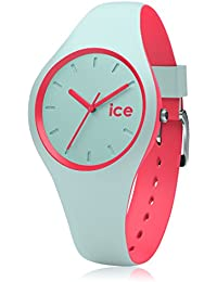 Ice-Watch - ICE duo Mint coral - Grüne Damenuhr mit Silikonarmband - 001490 (Small)