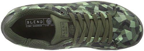 Blend Footwear, Baskets Basses Homme Vert - Grün (Green Ink)