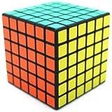 Cube Magique 6x6 Noir 6x6x6 Speed cube Professionnelle Record du monde de vitesse Cube Puzzle 6-Couleur 6.7cm