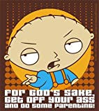 Family Guy Stewie Parenting Sticker S-FG-0045 by CD Visionary