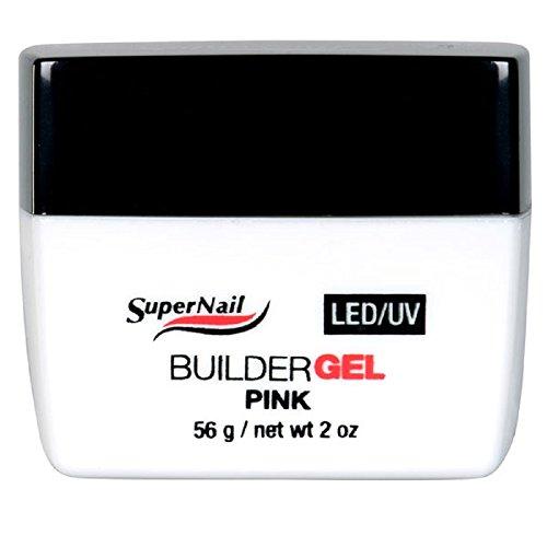SuperNail LED/UV - Builder Gel Pink - 2oz / 56g - 51605 - White Builder Gel