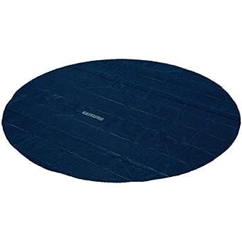 miganeo 488 cm premium solarplane schwarz blau rund poolheizung f r pool garten. Black Bedroom Furniture Sets. Home Design Ideas