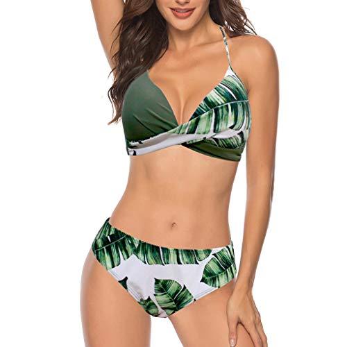 Bikinis Mujer 2019 Push up con Relleno Mujeres Sujetador Conjunto de Traje de BañO...