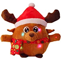 Weihnachtselch Stofftier Kuscheltier Teddybear Teddy Stofftiere Frohe Weihnachten Elch
