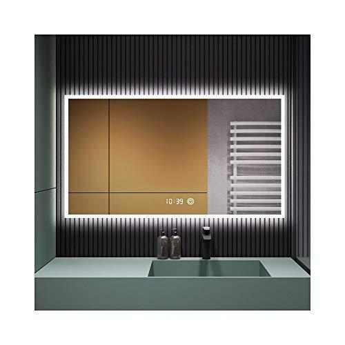 North cool Espejo De Baño Espejo De Baño Pared Moderna para Colgar...