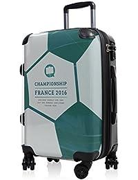 Maleta equipaje de mano Principal Ciudad rígida Style 55cm Con Candado TSA) con diseño de EM doble ruedas Incluye maletín colgante