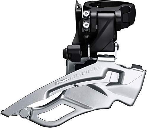 SHIMANO Deore Trekking FD-T6000 Umwerfer 3x10 Schelle hoch Down Swing schwarz 2019 Mountainbike -
