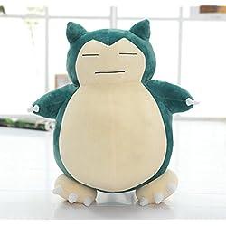 Dabixx Leegoal Pokemon Snorlax - Peluche para mascotas con sonido, juguete educativo para niños, 30 cm