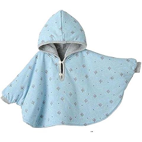 Ropa de bebé Capa de bebé Mantones gruesos Azul, Capa de doble cara