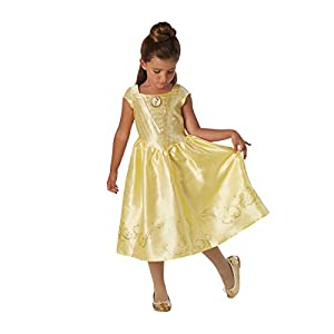 La Bella y la Bestia - Disfraz de Bella para niña, infantil 7-8 años (Rubie