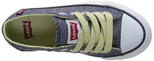 Levi's - Trucker Low Glitter, Basse Bambino Blu ( Blue)