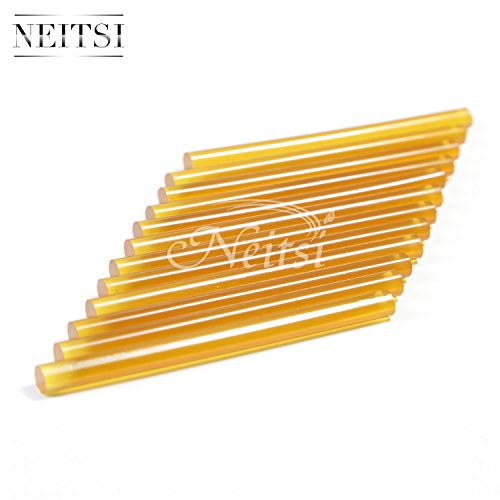 neitsir-12-professional-hair-extensions-keratin-bond-gun-glue-sticks-amber-clear-keratin-glue-sticks