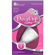 Diva Cup Coupe menstruelle taille 1 avant accouchement (emballage peut varier)