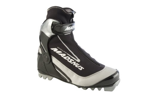 Madshus Hyper RPS Ski Stiefel, Schwarz / silberfarben 48 EU