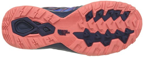 The North Face W Litewave Explore, Scarpe da Escursionismo Donna Bleu (Patriot Blue Print/Tropical Coral)
