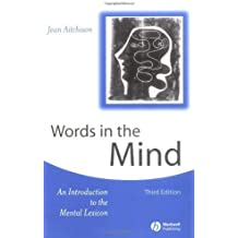 Words in the Mind: An Introduction to the Mental Lexicon by Jean Aitchison (2003-01-08)