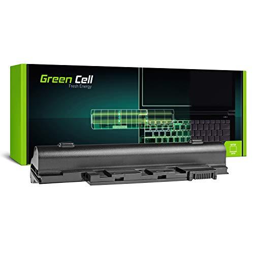 Green Cell AL10A31 AL10B31 AL10G31 Laptop Akku für Acer Aspire One 522 722 D255 D257 D260 D270 (6 Zellen 4400mAh 11.1V Schwarz)