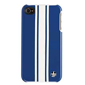 Trexta Racing Case for iPhone 4/4S - White and Black