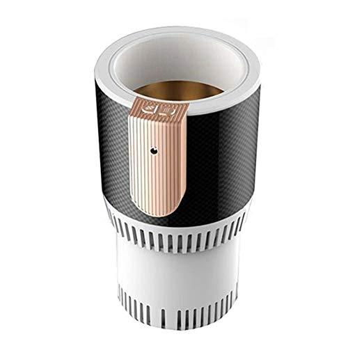 Elektro-Auto-Tasse Kühler/Warmer Halbleiter Mini-Kühlschrank Trinken Halter Kühlung Oder Heizung Getränkedosen Kaffee In Minuten,White -