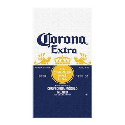 Corona Extra Beer Label Serviette de plage